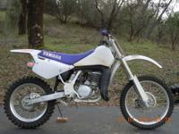 1992 Yamaha WR500 2 stroke off road motorcycle in very
