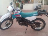 1992 Yamaha XT350 Dual Sport in excellent condition. I