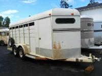 1992 American 4 Horse Bumper Pull Trailer. Hard to find