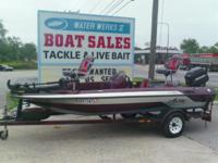 1992 Astro Boats S-15B 15 Foot Astro Bass Boat with 60