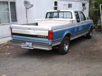 1992 Ford F150. Clean inside and out. This truck has