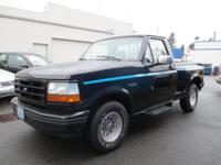 1992 Ford F150 Flare Side Pickup Regular Cab, 2WD,