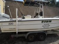1995 Johnson 200 Ocean Runner Garmin C 1000 fish