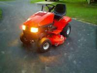 "I have a very nice Ariens Lawn Tractor 15hp 42"" cut"