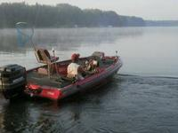 18ft bass boat for sale 	 Fish Finder  Stereo -