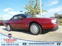 Only 88,846 Miles! This Cadillac Allante' delivers a