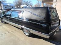 1993 Cadillac Fleetwood Hearse built by Superior Coach