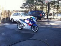 has a full hindle exhaust system, stage two jet kit and