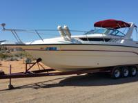 For a 1993 model year boat, this one is in very good