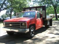 Options Included: N/AClean stake rack truck with dump