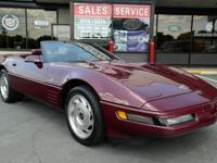1993 Chevrolet Corvette 40th Anniversary Convertible!
