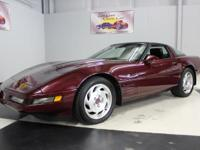 Stk#103 1993 Chevrolet Corvette In 1993 there were