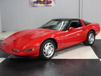 Stk#105 1993 Chevy Corvette Painted a beautiful Torch