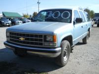 Options Included: N/A1993 Chevy Suburban 2500 2wd,
