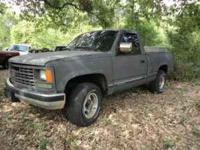 Parting out 1993 Chevy 1500 short bed pickup, V8,
