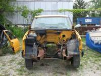 1993 Chevy 3/4 ton truck Very little left on this