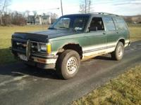 Up for sale is a 4 door, 5 speed, 4x4, 1993 Chevy S10