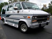 1993 Chevy Van 20 Express Conversion & Ricon wheel