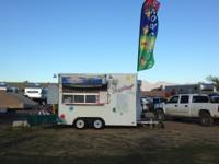 1993 concession trailer 8x12 remodeled with all