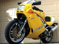 Year: 1993Make: DucatiModel: Superlight 900Type: Sport
