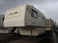 Very clean luxury 5th wheel from Carriage, makers of