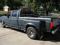 1993 Ford F-350 XLT, Duely 4 door staff taxi, 7.3