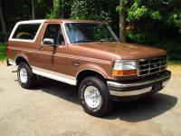 1993 Ford Bronco Eddie Bauer 5.0 liter V8 Only 63,694