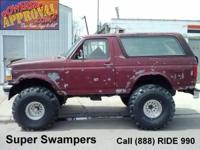 1993 Ford Bronco XLT Lifted-U1546 with brand-new 42 TSL
