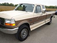Options Included: N/A1993 FORD F-250 XLT 4X4 8' BOX.