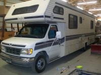 1993 Ford Honey Bear Motor Home 7.5 Gas Engine