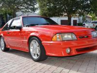 1993 Ford Mustang Cobra 5.0 V8 with 77K Original Miles