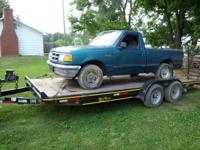 i got a 1993 ford ranger 2x4 short bed 3.0 was a 5speed