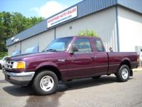 Options Included: 1993 Ford Ranger X/Cab 4x2 XLT, A/C,