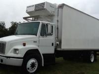 1993 FREIGHTLINER Reefer Truck, Engine: 3205 CAT, 65000