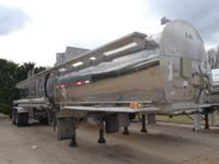 '93 Fruehauf MC 307 Stainless Tanker, VIK good through