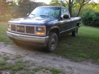 1993 gmc sierra pickup 4x4 everything works as it