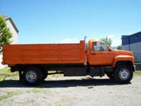 Exterior Color: ORANGE Engine: CAT DIESEL Drivetrain: