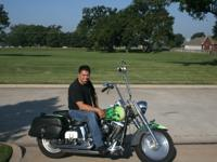 1993 Harley-Davidson Fat Boy , 18 inch apes, custom