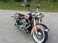 The bike for sale is my 1993 Heritage Softail. This