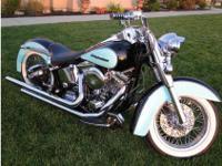 1993 Harley-Davidson Heritage Softail Classic Flstc,