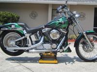 BABIED CUSTOM FXSTC NEEDS NOTHIN RUNS LIKE NEW ,NEVER