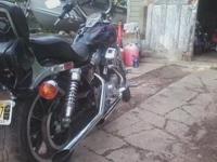 1993 Harley Davidson XLH1200 Sportster- - Black