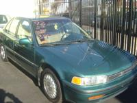 Options Included: N/AThis 1993 Honda Ex 4DR is in great