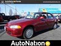 1993 Honda Civic Our Location is: Appleway Honda - 8201