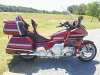 This is a ONE OWNER Honda Goldwing. This bike is in