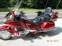 1993 Honda Goldwing GL1500 AP Motorcycle in excellent