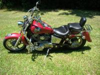 1993 VT1100 Honda Shadow Spirit Custom, 35,000 miles.