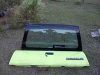 Full size Blazer tailgate and glass hatch in excellent