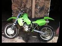 Very nice, very fast low hours kx 500. You will never
