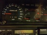 93 kawasaki voyager 1200... runs excellent. New tires,